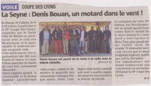 Voile victoire à Toulon à la coupe des Lyons