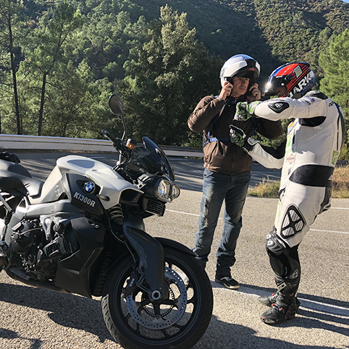 Stage de pilotage moto sur route avec Denis Bouan