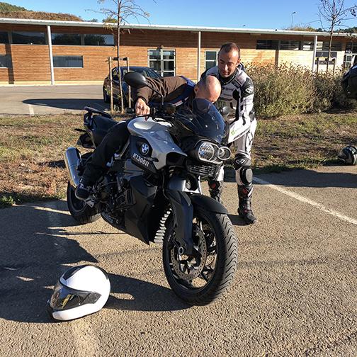 Stage de pilotage moto avec Denis Bouan
