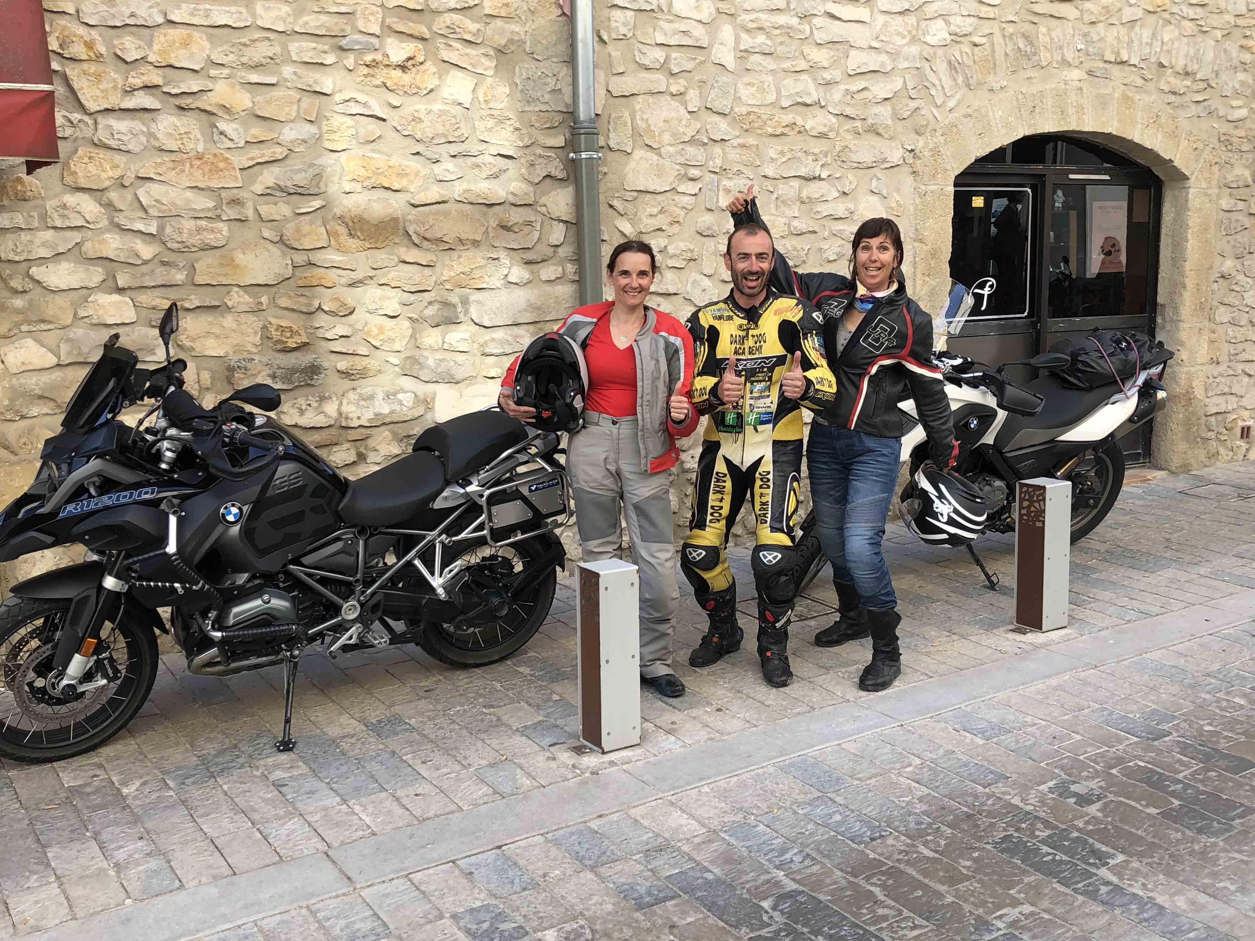 Stages de pilotage moto sur route pour tous